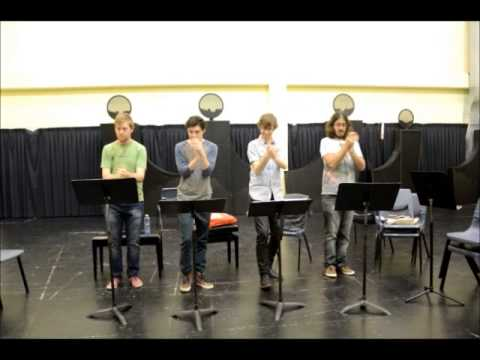 Up the Body and Down the Page – New Body Percussion Piece