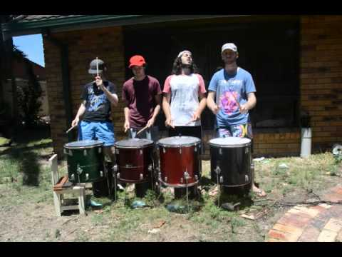 More 'Etna' Paint Drumming Rehearsal Videos